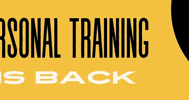 Personal Training is Back – Book your session today.