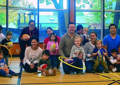 False Creek Community Centre Parent tot Playtime