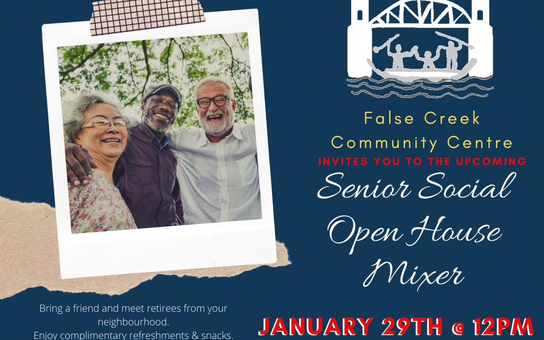 Senior Social Open House Mixer-Jan 29