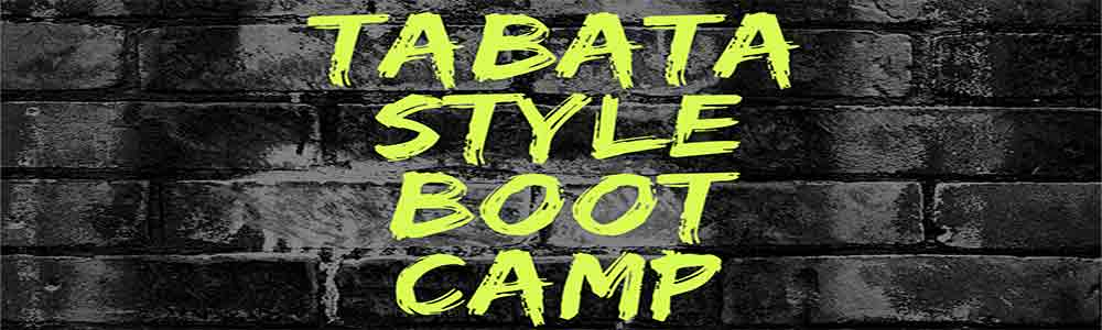 Tabata Style Boot Camp Starts Sept 24