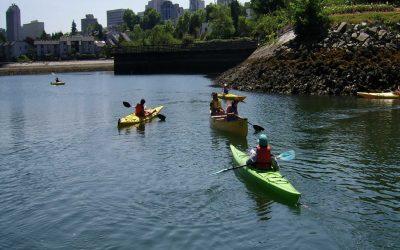 Canoe, Kayak & SUP Clubs At False Creek Community Centre