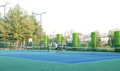 Tennis & Sports Courts on Granville Island