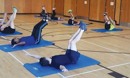 Gentle Pilates-Tuesdays 7:50am