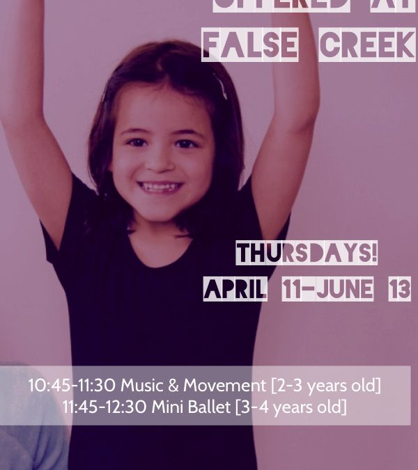 Performing Starts Mini Ballet & Music Movement Classes