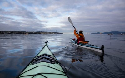 Ocean Kayaking on Granville Island