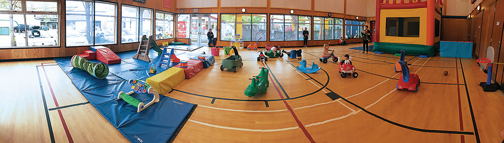 Parent and Tot Gym (0-6 yrs)